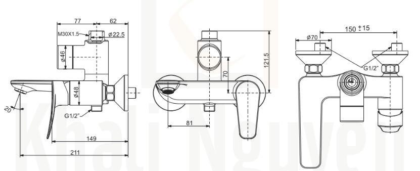 Bản vẽ kỹ thuật WF-0972