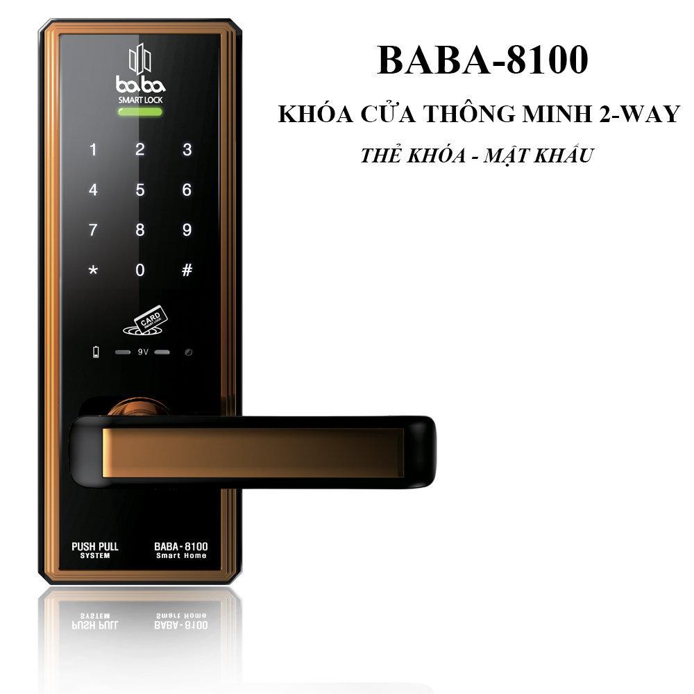 Khóa cửa thông minh BABA-8100