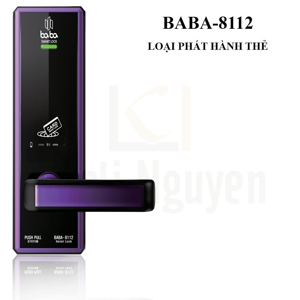 Khóa Khách Sạn BABA-8112 Loại Phát Hành Thẻ