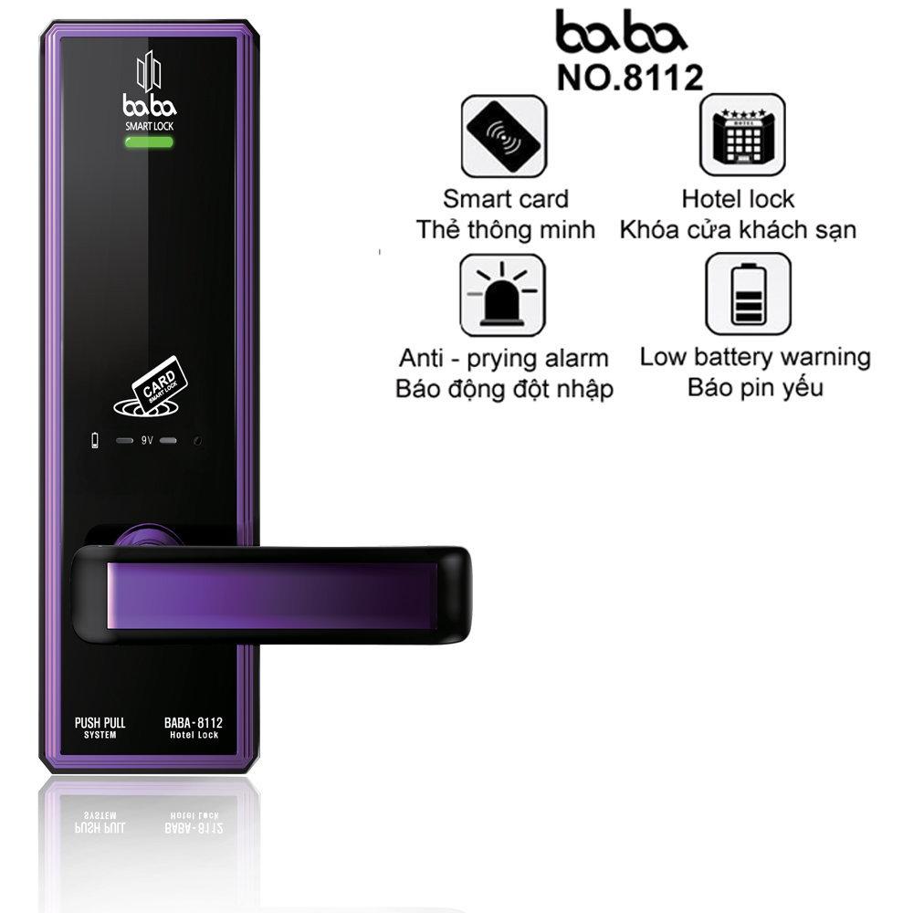 Chức năng của khóa cửa BABA-8112