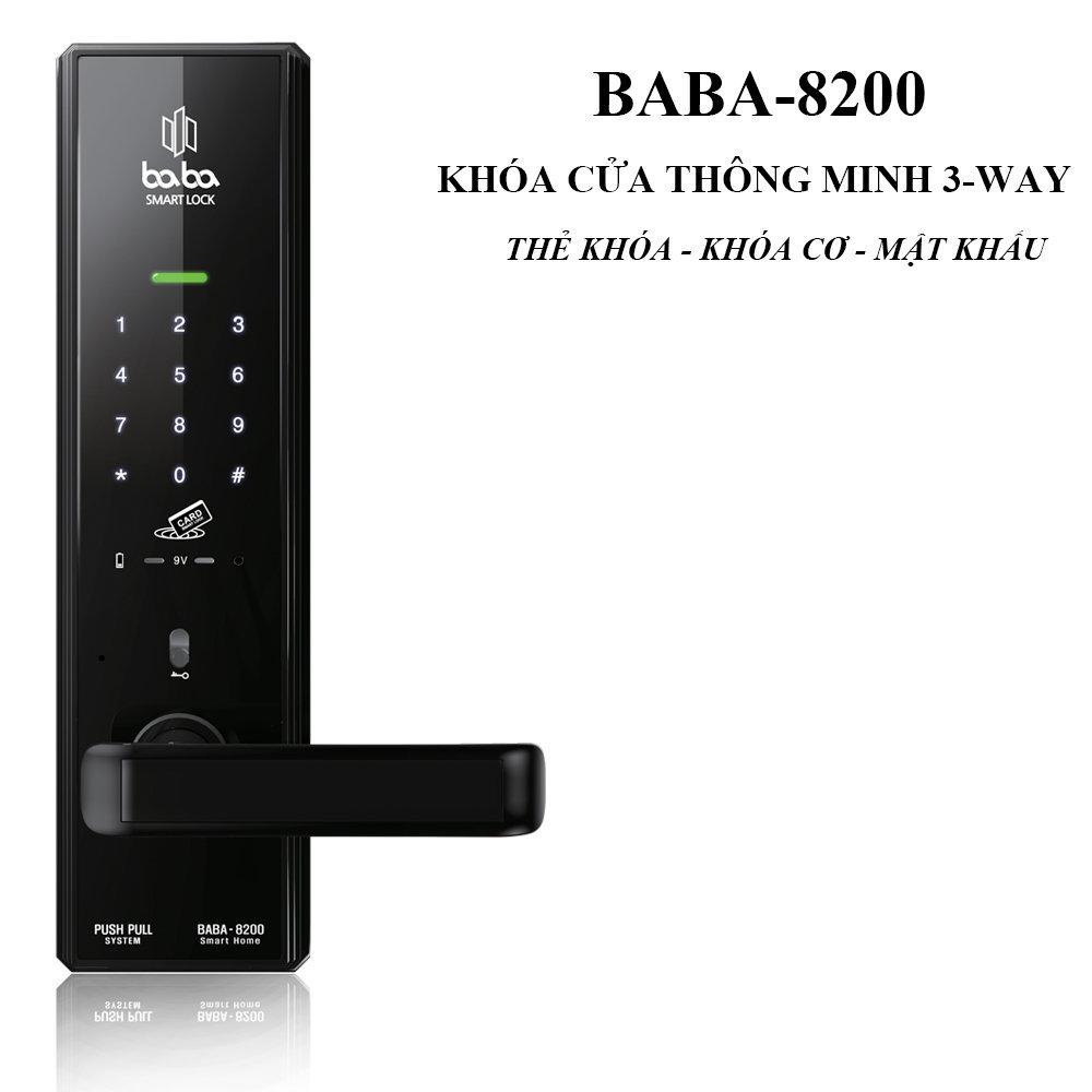 Khóa cửa thông minh BABA-8200