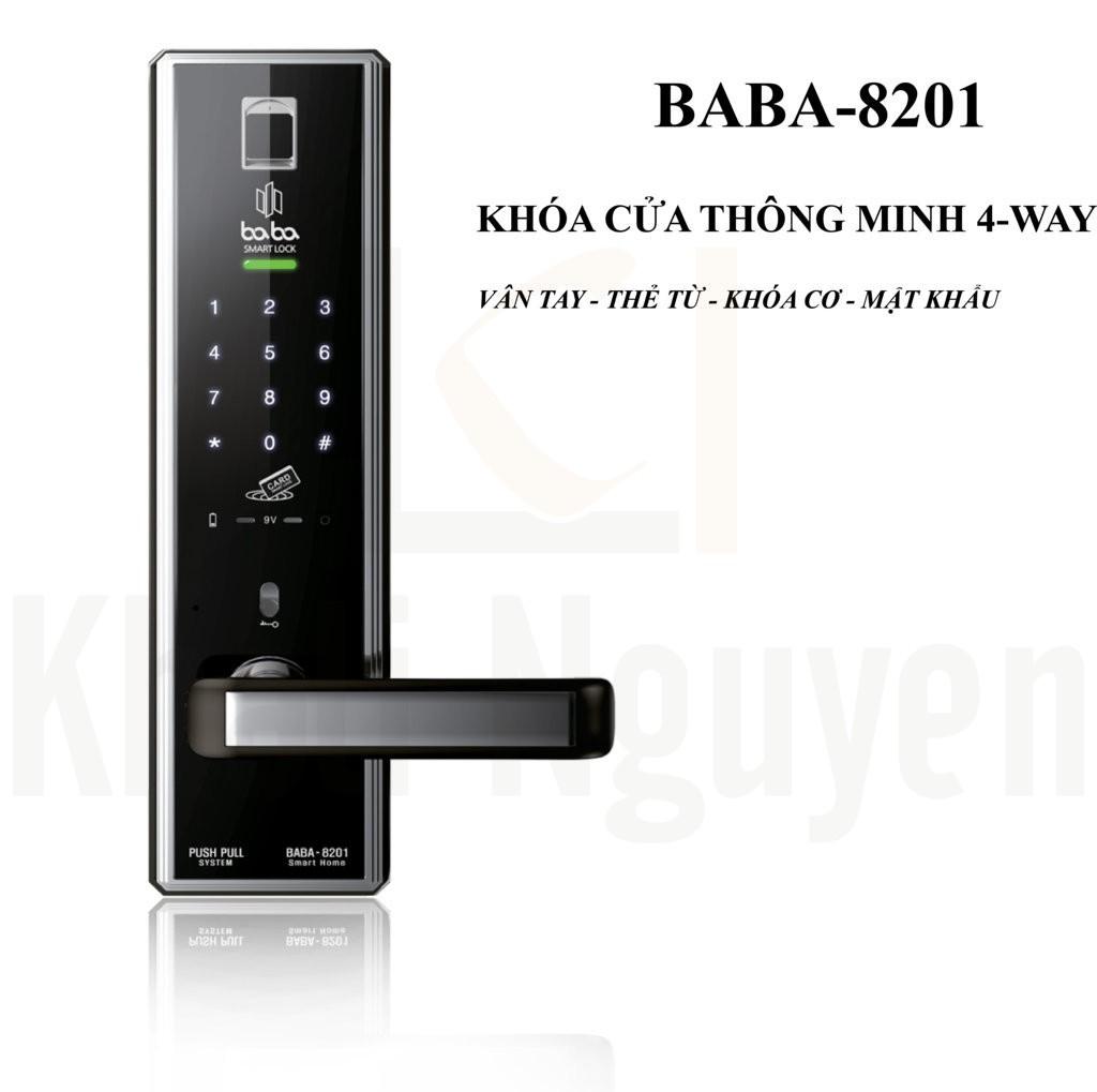 Khóa cửa thông minh BABA-8201