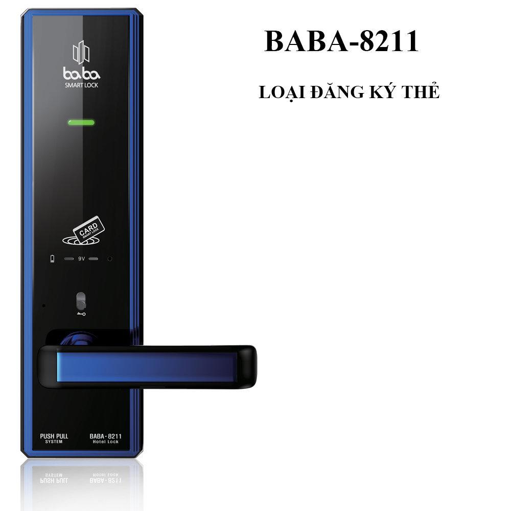 Khóa khách sạn thông minh BABA-8211
