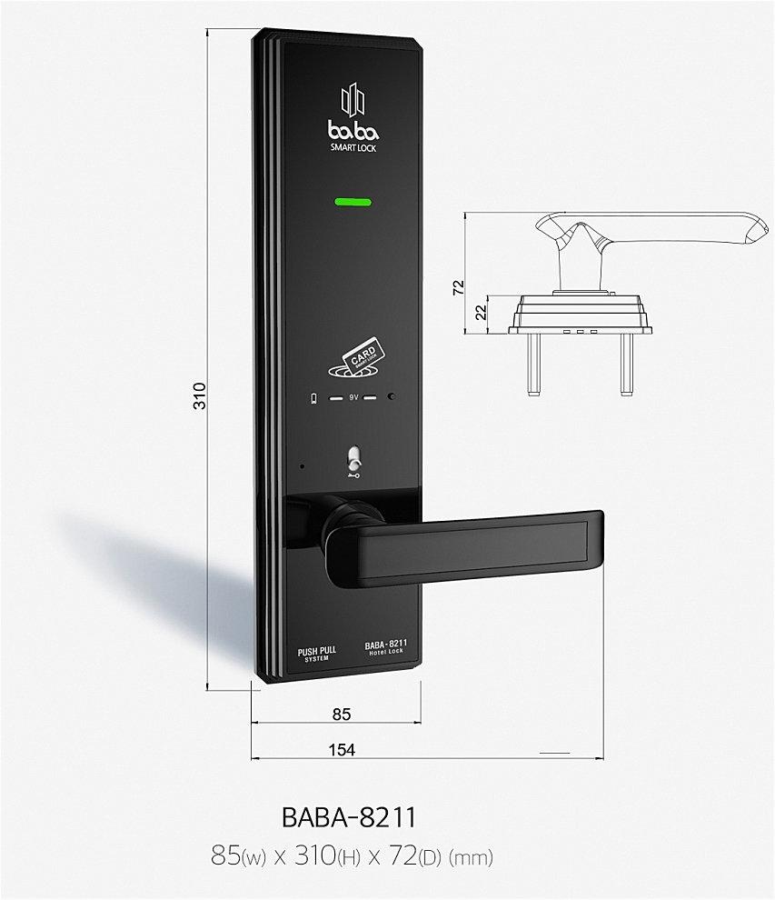 Thông số kỹ thuật BABA-8211