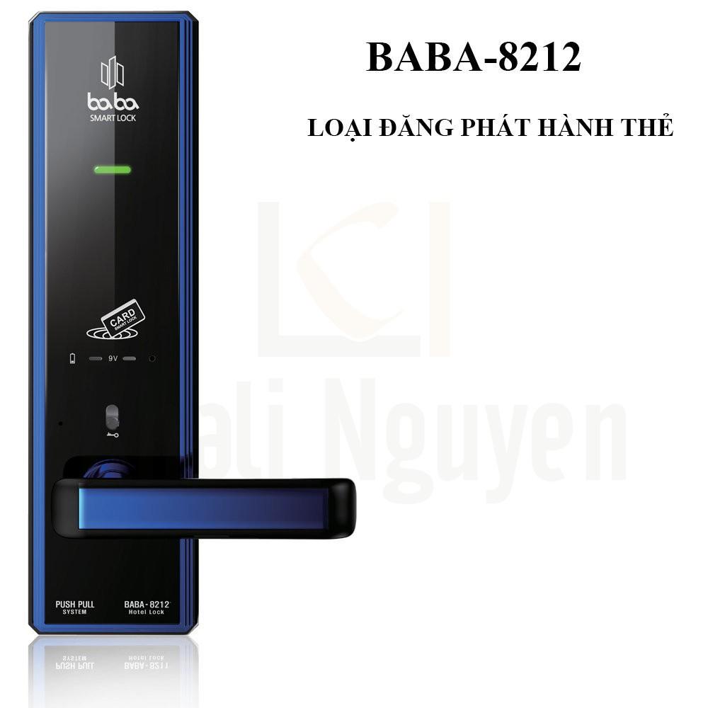 Khóa Khách Sạn Thông Minh BABA-8212 Loại Phát Hành Thẻ