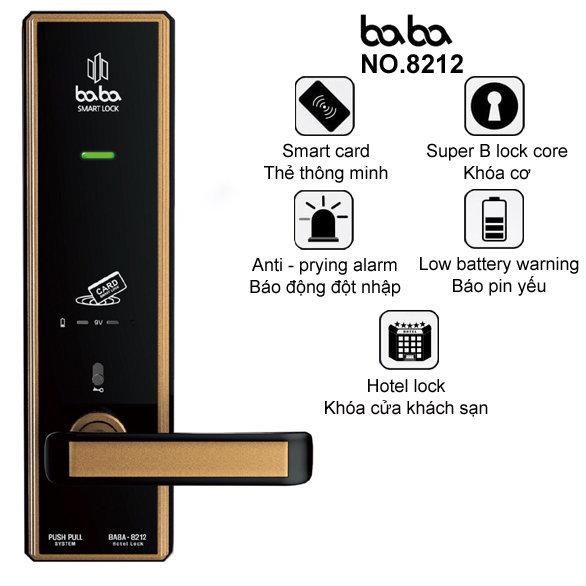 Tính năng khóa BABA-8212