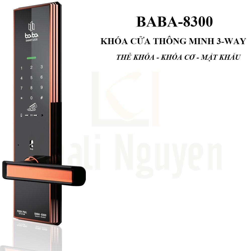 Khóa cửa thông minh BABA-8300
