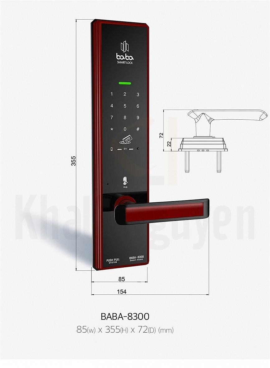 Thông số kỹ thuật BABA-8300