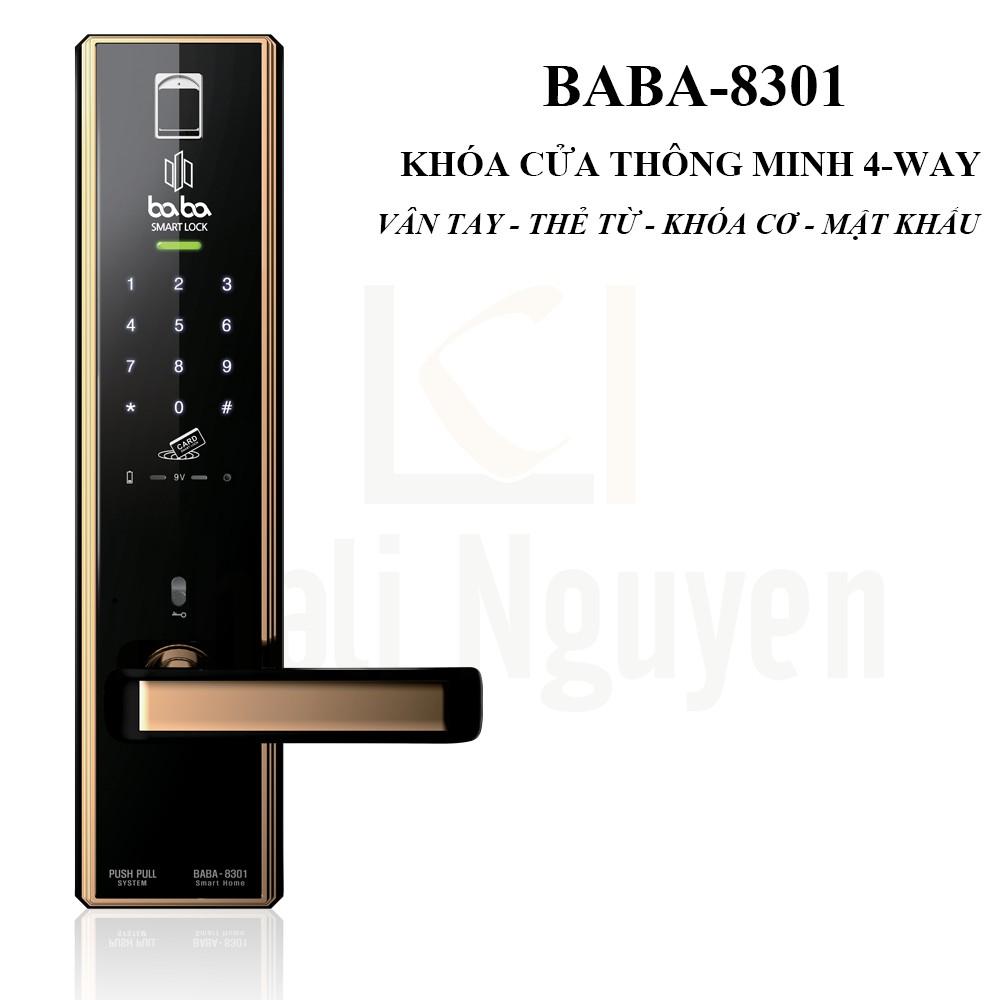 Khóa cửa thông minh BABA-8301