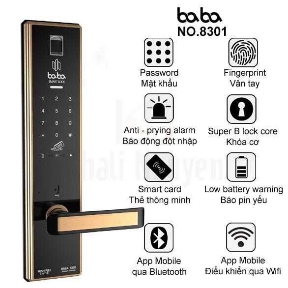 Những tính năng cơ bản của BABA-8301