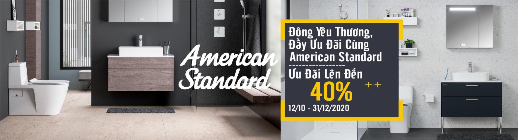 Khuyến mại Amerrican Standard 2020