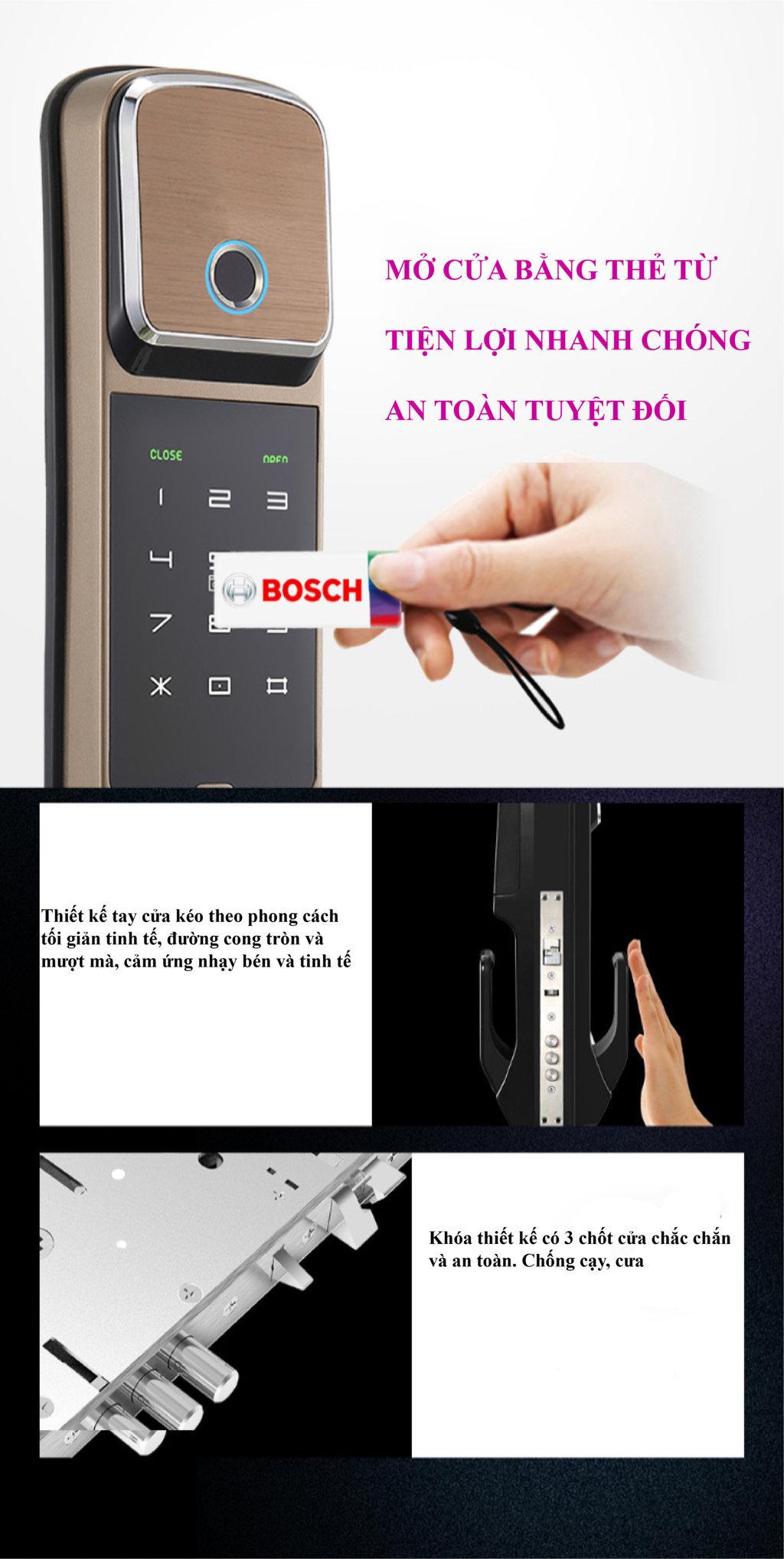 Ảnh 3 - Khóa điện tử Bosch FU550
