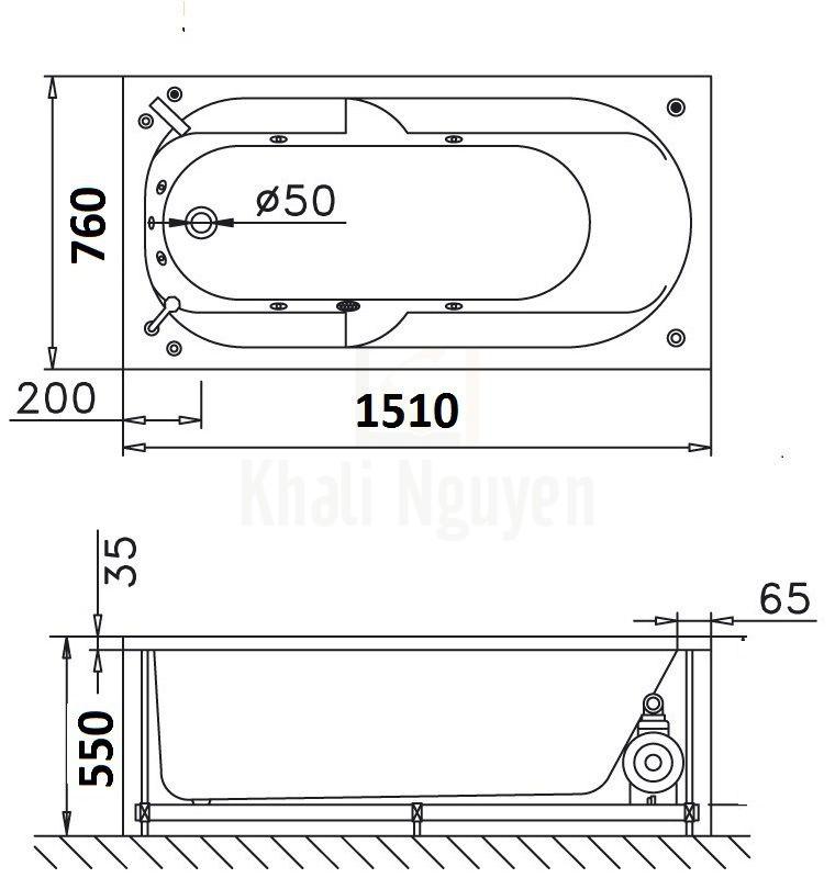 Bản vẽ kỹ thuật CAESAR MT0650
