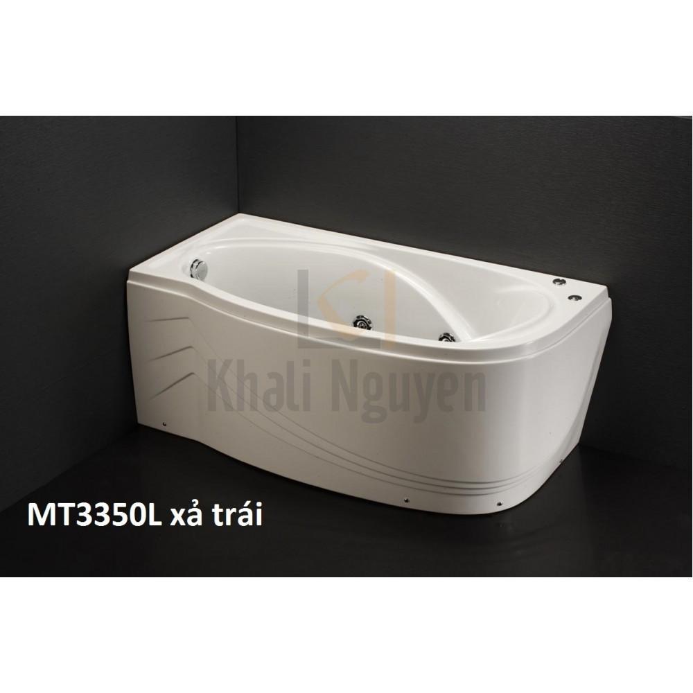 Bồn Tắm Massage 1.5M Chân Yếm CAESAR MT3350L/R