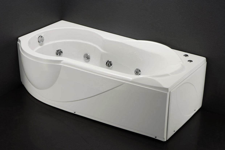 Bồn Tắm Massage Caesar MT3180L/R Chân Yếm Dài 1.8M