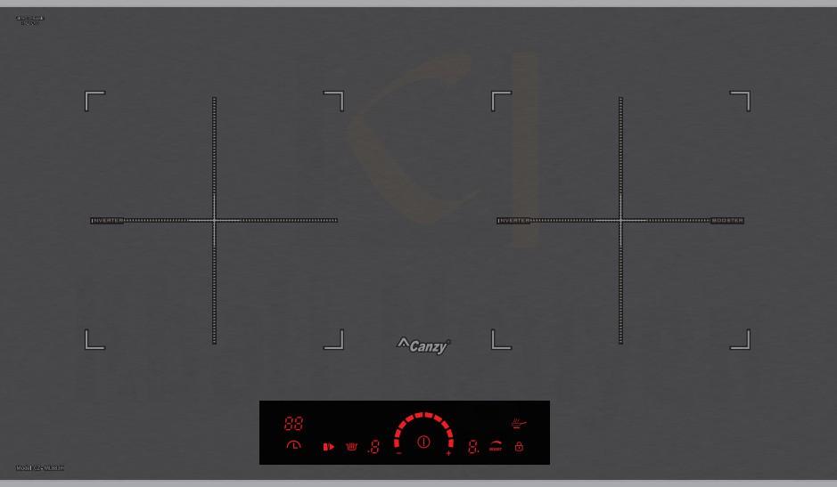 Bếp Điện Từ Canzy CZ-ML883H Inverter