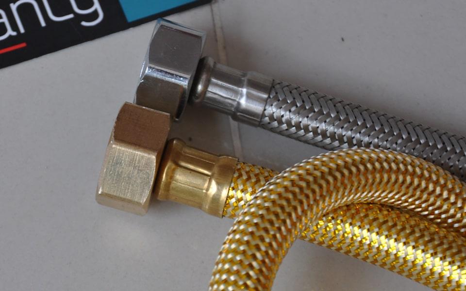 Dây cấp nước inox - công dụng, cấu tạo và các loại được ưa chuộng nhất