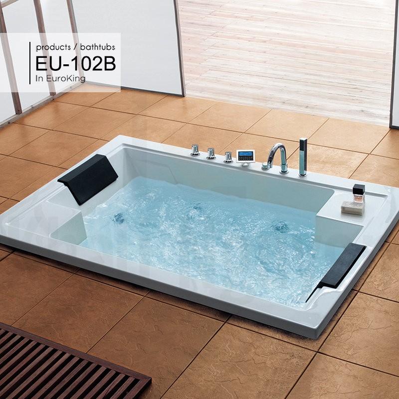 Hình ảnh tổng thể bồn tắm massage EU – 102B