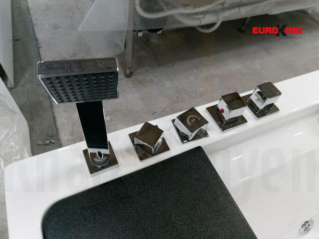 Vòi sen và các nút điều chỉnh cường độ sen, nhiệt độ nước