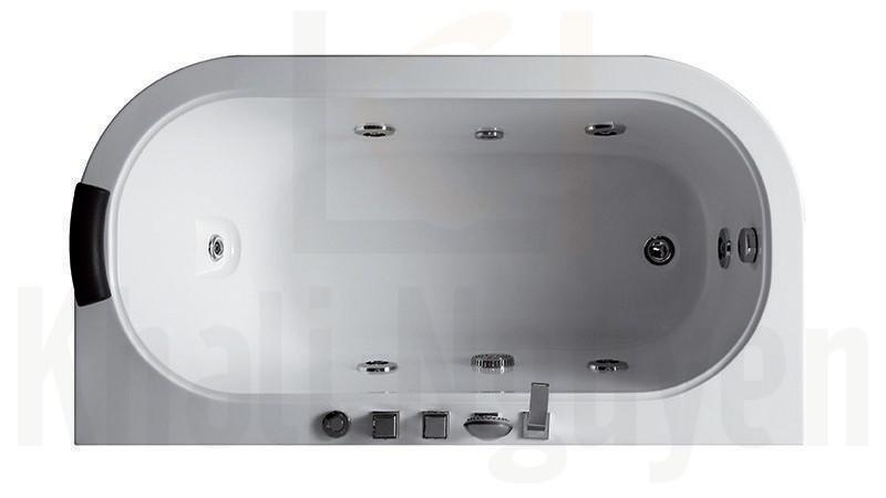 Trong lòng bồn tắm massage EU-1302