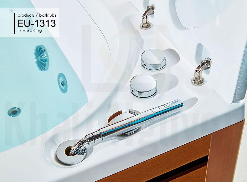 Hệ thống điều chỉnh sen của bồn tắm massage EU-1313
