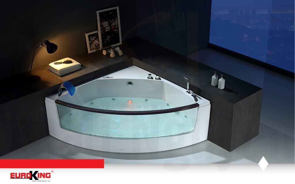 Hình ảnh tổng thể của bồn tắm massage EU – 202