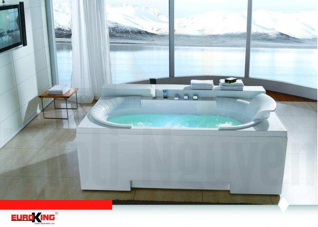 Hình ảnh tổng thể của bồn tắm massage EU – 301A