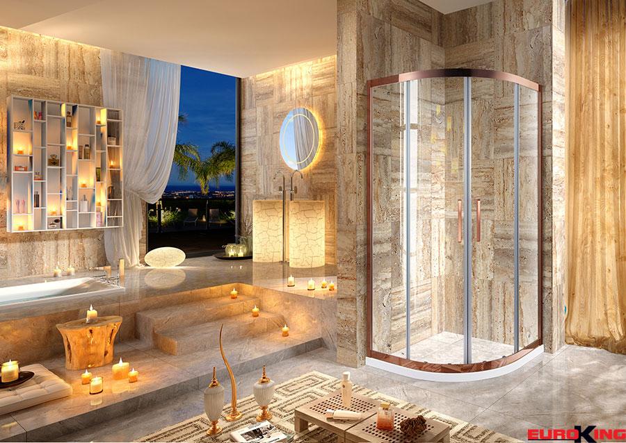 Phòng tắm vách kính EuroKing EU – 4524