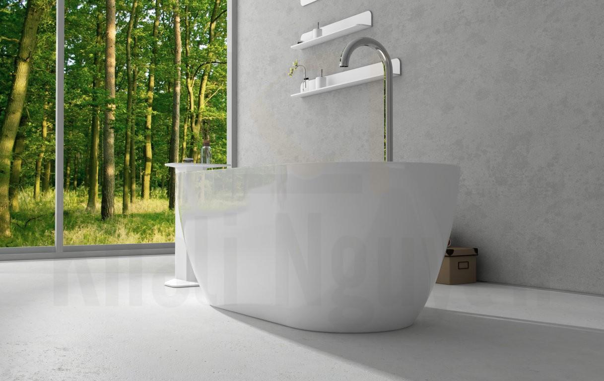 Bồn tắm DIVA EU-6024 Màu Trắng