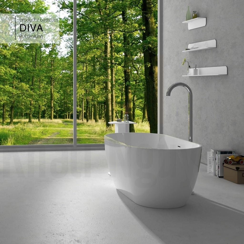 Bồn tắm DIVA EU-6024