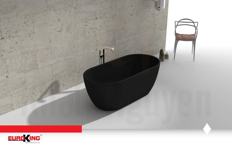 Bồn tắm DIVA EU-6024 Màu Đen