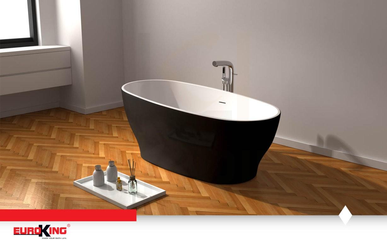 Bồn tắm IRENE EU-6036 Màu Đen