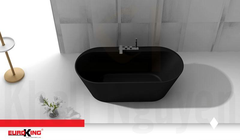 Bồn tắm EU-6057 Màu Đen Nhám