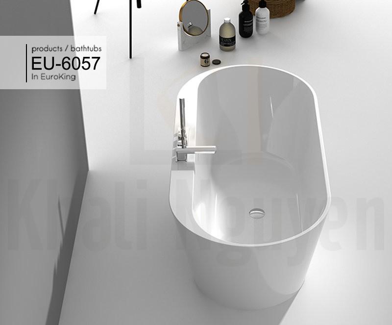Bồn tắm EU-6057 Màu Trắng