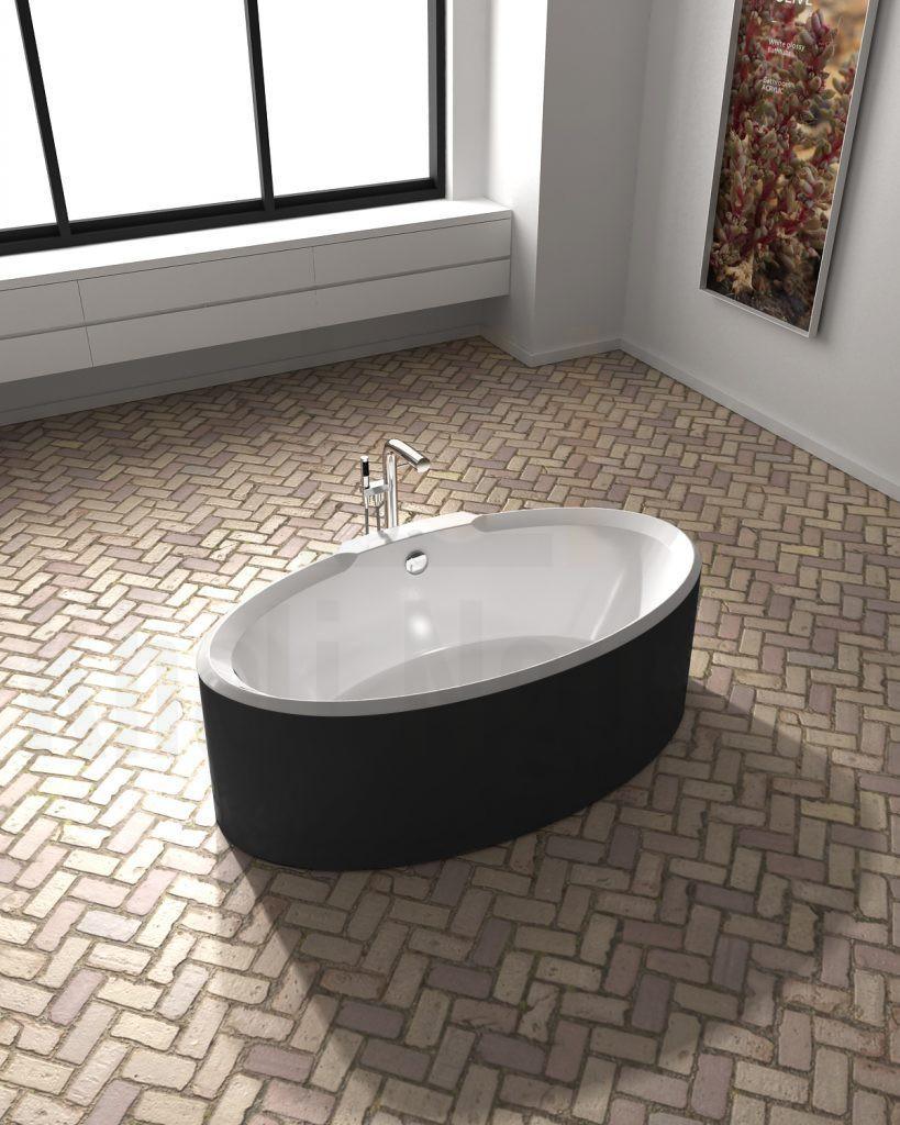 Bồn tắm Lotus EU-6066 Màu Đen Kết Hợp