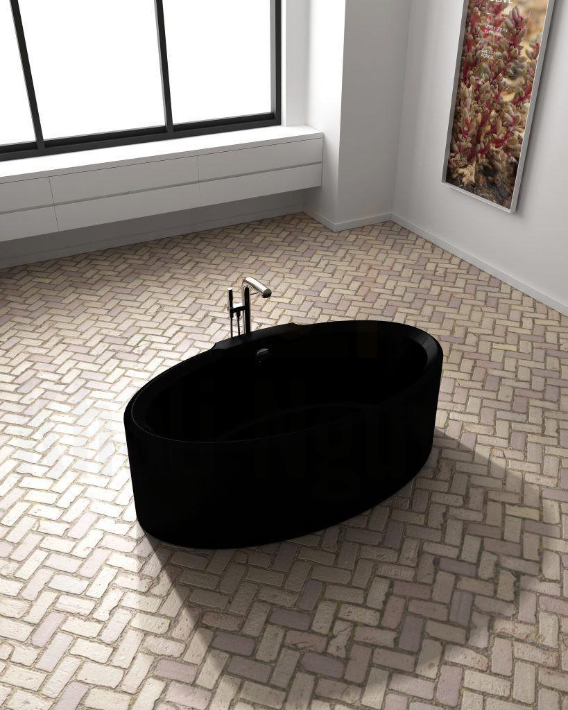 Bồn tắm Lotus EU-6066 Màu Đen