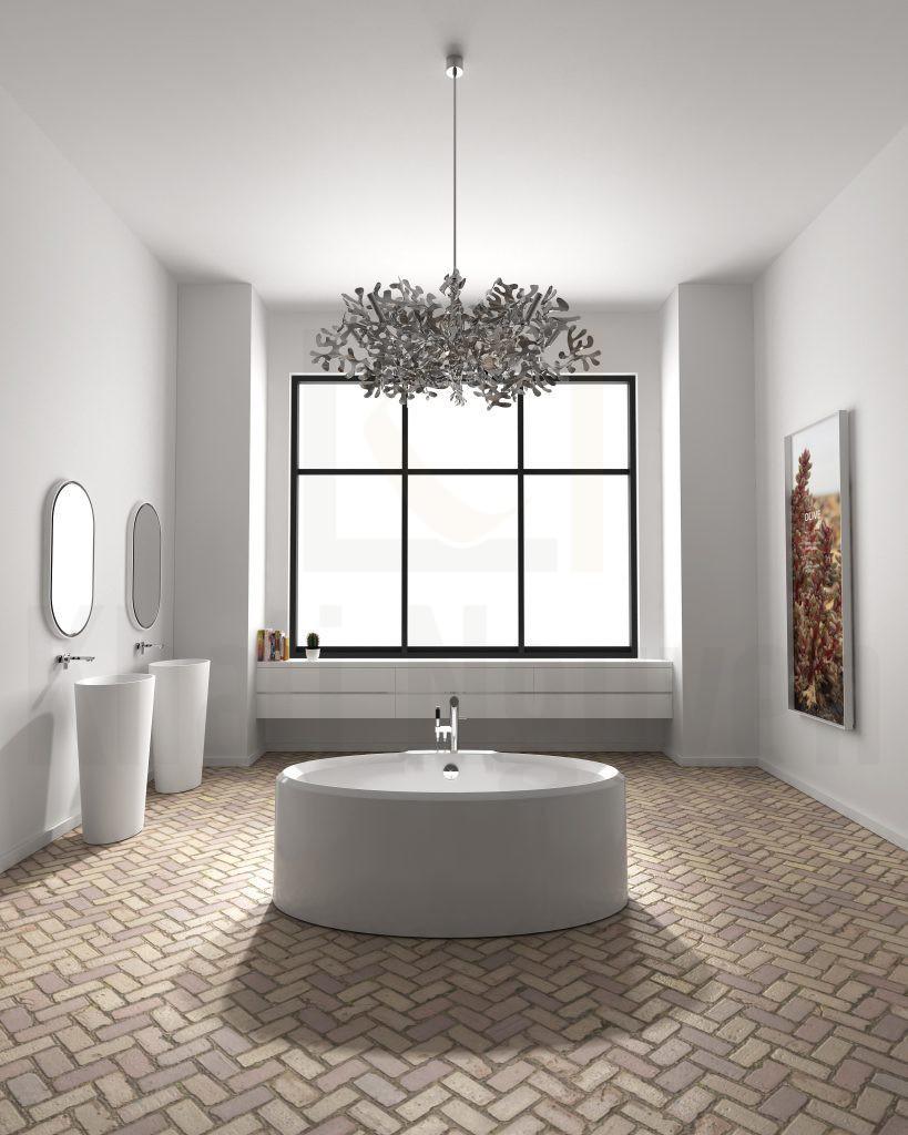 Bồn tắm Lotus EU-6066 Màu Trắng