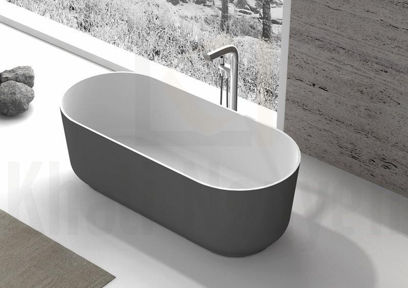 Bồn tắm EU-65166 Màu Xám