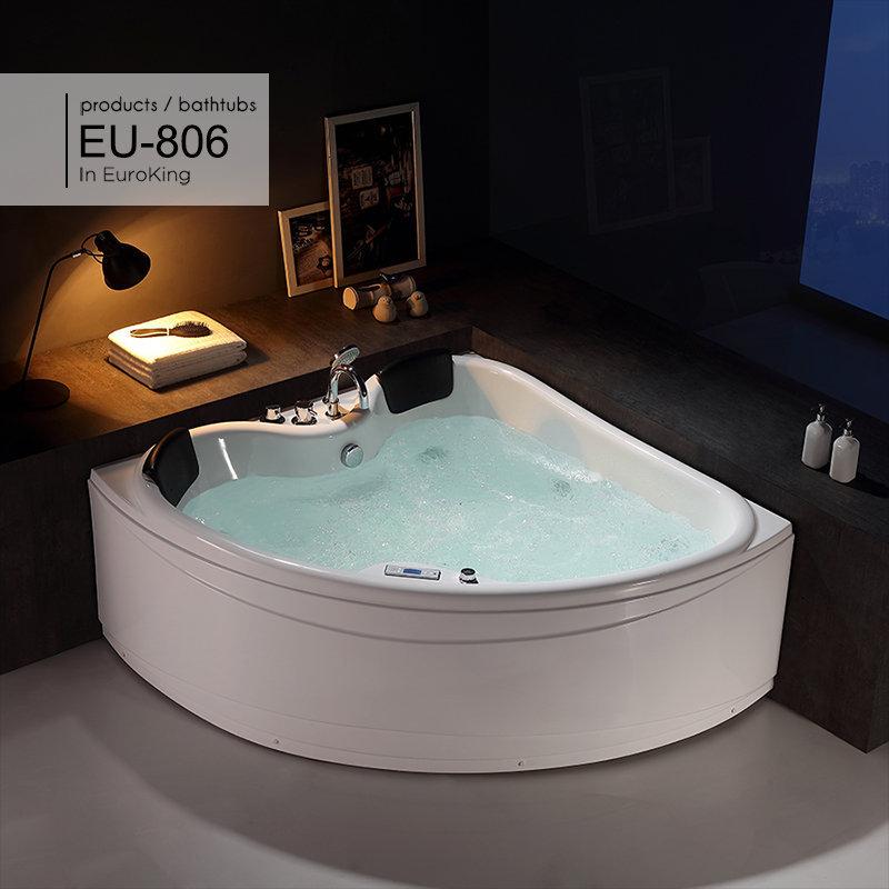 Hình ảnh tổng thể của bồn tắm massage EU – 806
