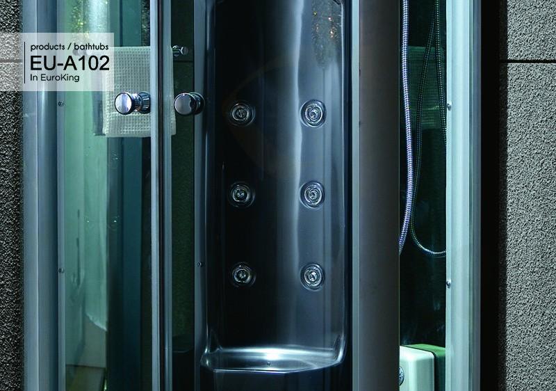 Hệ thống massage của phòng xông hơi EU – A102