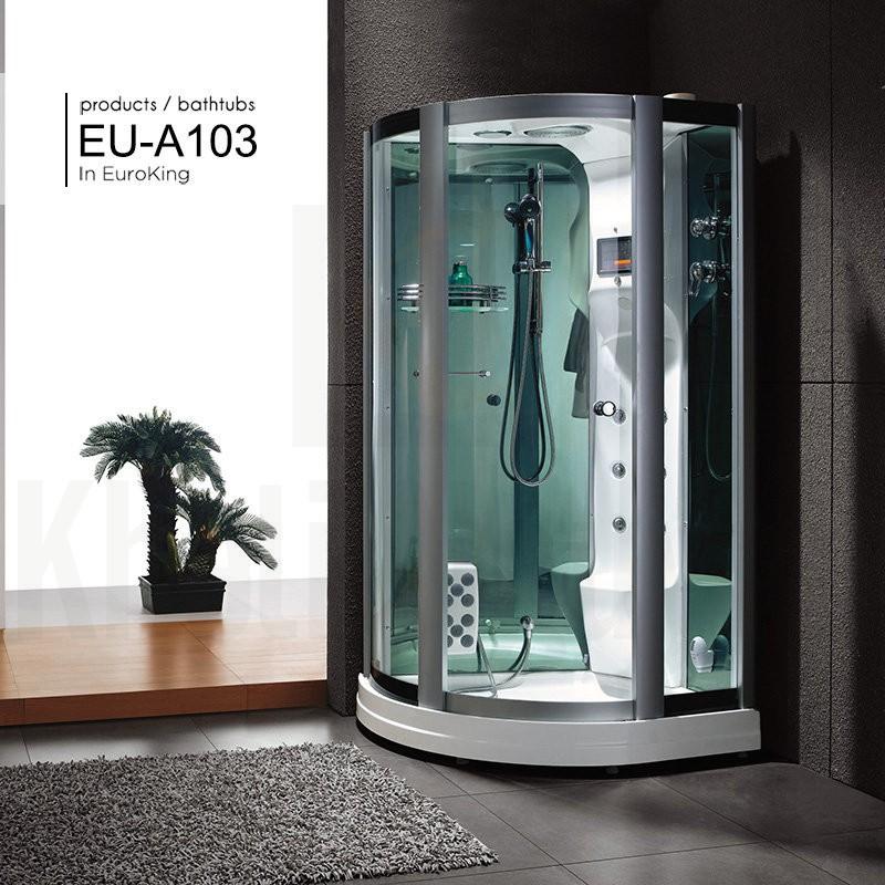 Hình ảnh tổng thể của phòng xông hơi EU – A103 ( Trắng )