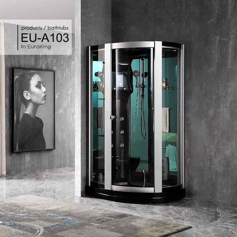 Hình ảnh tổng thể của phòng xông hơi EU – A103 ( Đen )