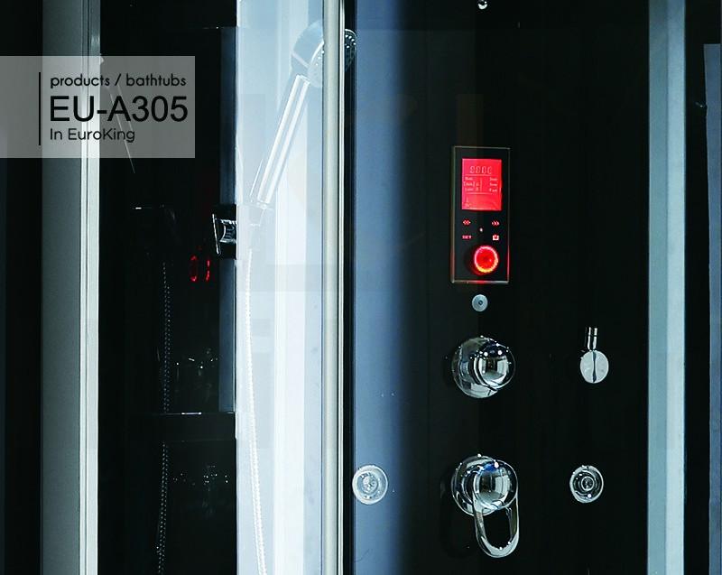 Bảng điều khiển mang công nghệ hiện đại của phòng xông hơi EU – A305
