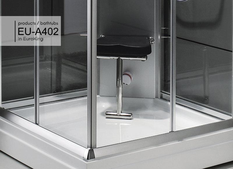 Ghế ngồi cao su êm ái của phòng xông hơi EU – A402