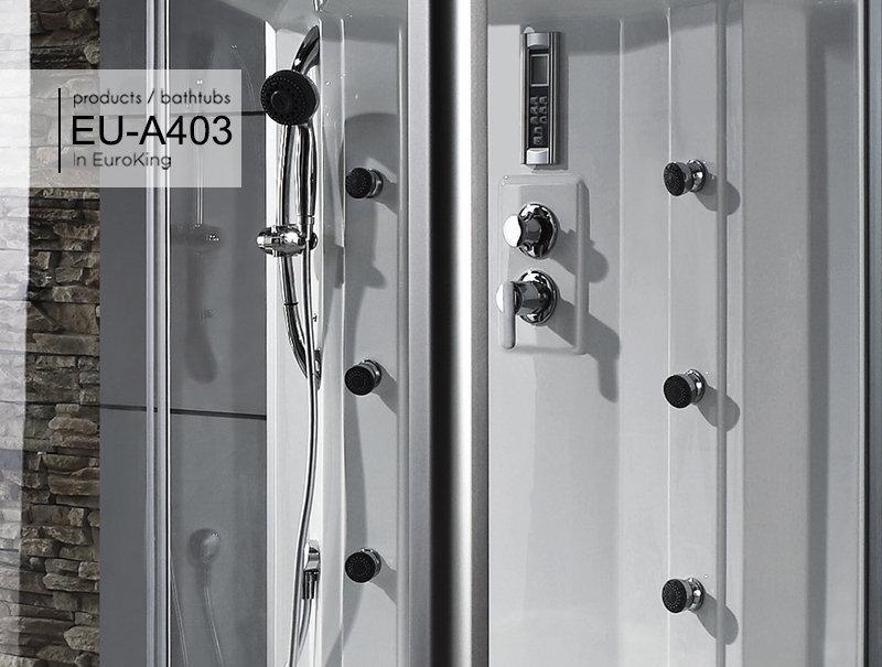 Các chức năng của phòng xông hơi EU – A403