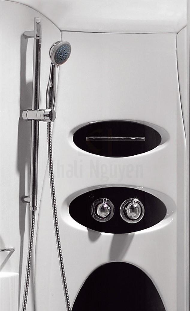 Hệ thống vòi sen và nút điều chỉnh