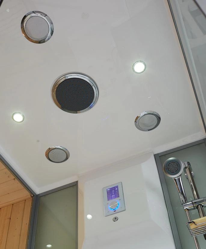 Hệ thống đèn trần phòng xông hơi EU-A903