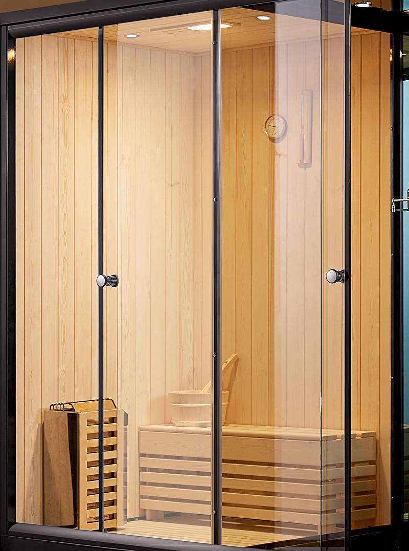 EU-A903 - Phòng xông hơi khô làm hoàn toàn bằng gỗ