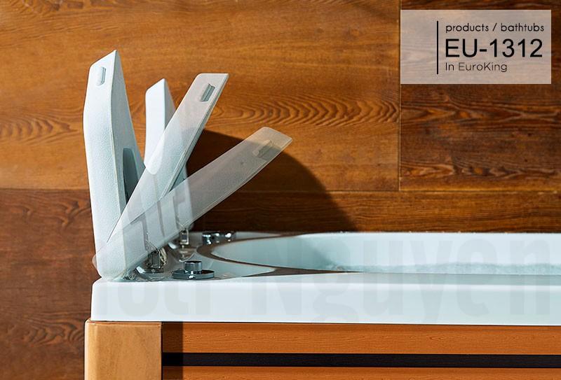 Nắp bật của bồn tắm massage EU-1312