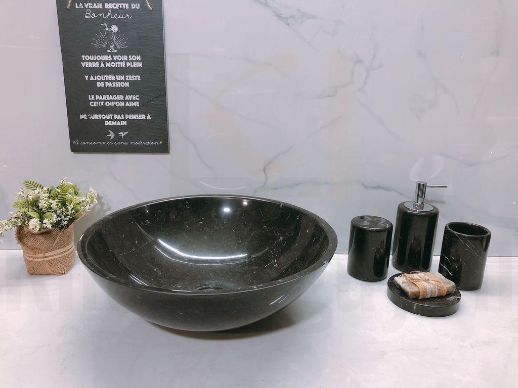 Chậu rửa đá tự nhiên Eximstone BST03